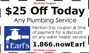 25 off any plumbing service